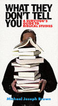 What They Don't Tell You What They Don't Tell You: A Survivor's Guide to Biblical Studies. A useful little volume.